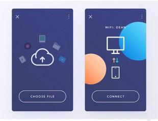 设计|小清新UI设计页面分享,需要的收