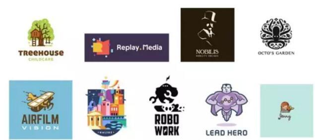 插图:插图是个很好的方式让logo脱颖而出起来,尤其对于商业logo来说,今年会越来越流行。