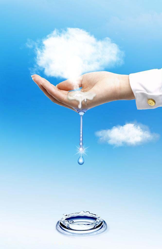 环保公益广告海报图图片