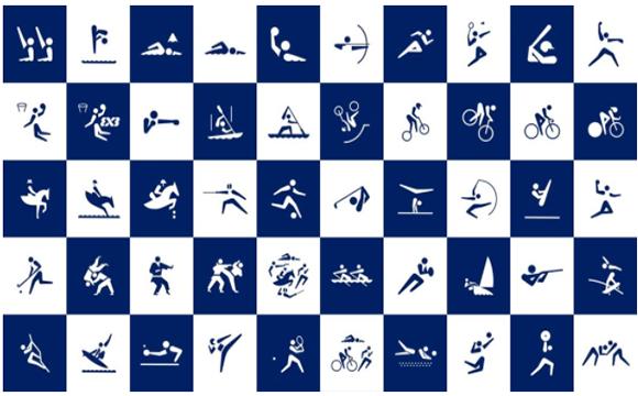 2020东京奥运会创意动态图标来了